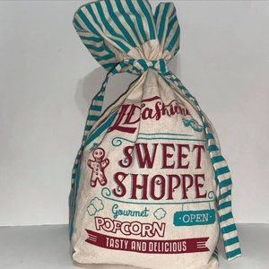 Old Fashion Popcorn Cloth Cotton Storage Bag